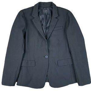J Crew Womens Size 10 Regent Blazer Jacket Black